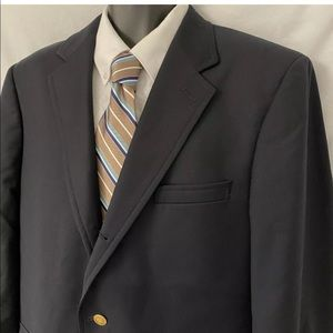 42 L Brooks Brothers Sport Coat Blazer Suit Jacket